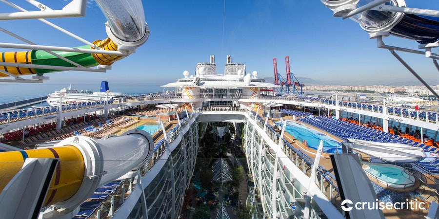 The Perfect Storm on Harmony of the Seas (Photo: Cruise Critic)