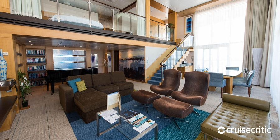 The Royal Loft Suite on Harmony of the Seas (Photo: Cruise Critic)