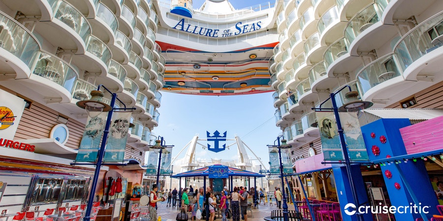 The Boardwalk on Allure of the Seas (Photo: Cruise Critic)