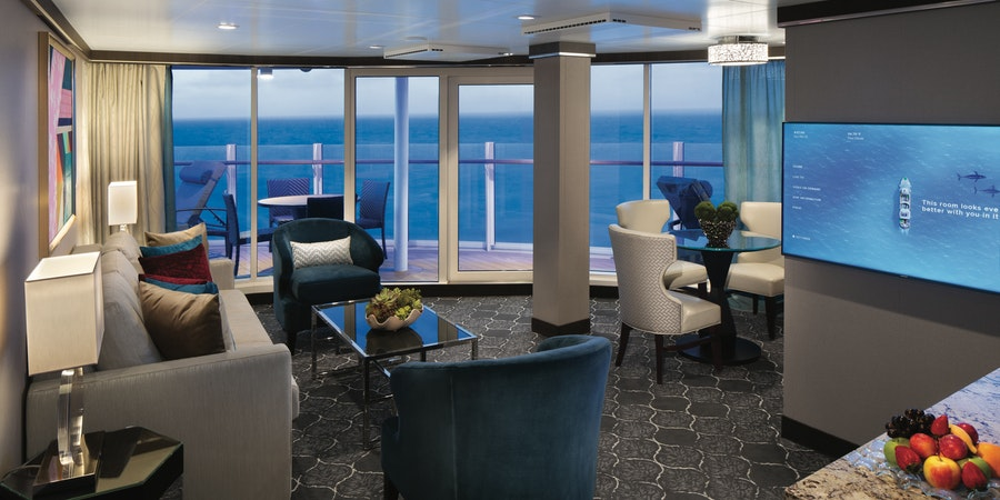 The AquaTheater Suite on Symphony of the Seas (Photo: Royal Caribbean)