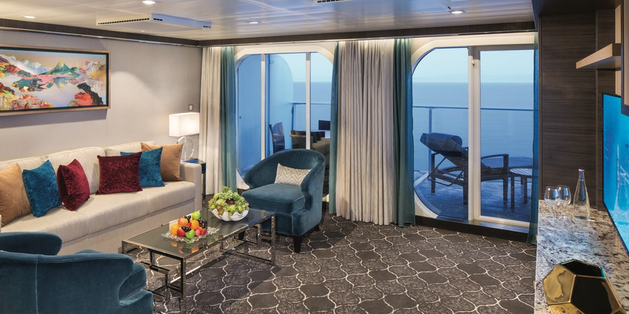 The Two-Bedroom Grand Suite on Symphony of the Seas (Photo: Royal Caribbean)