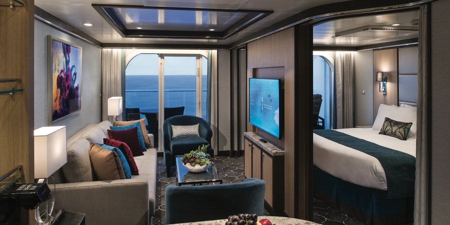 The One-Bedroom Grand Suite on Symphony of the Seas (Photo: Royal Caribbean)