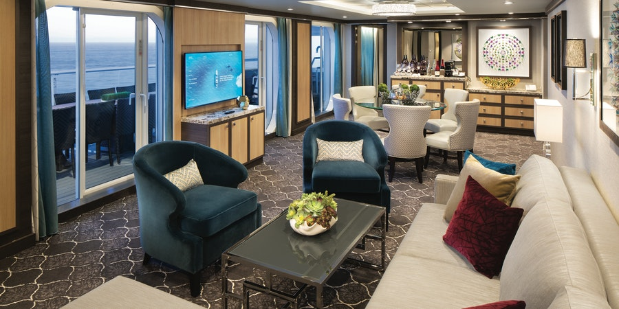 The Villa Suite on Symphony of the Seas (Photo: Royal Caribbean)