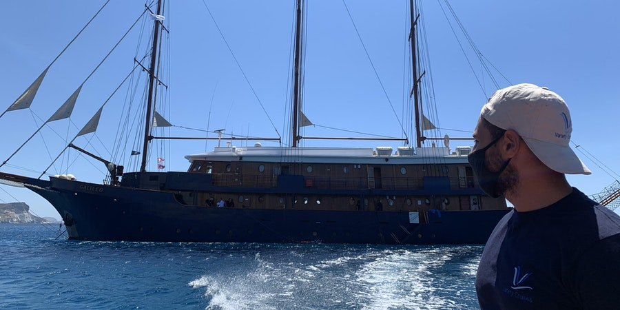 Variety Cruises' Galileo in Greece (Photo: Adam Coulter/Cruise Critic)