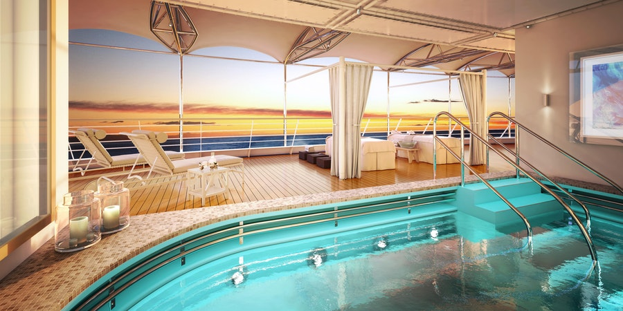 The Open Deck Spa on Silver Moon (Image: Silversea)