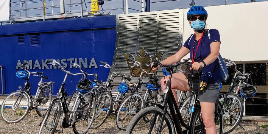 Bike tour in Strasbourg with AmaKristina (Photo: Franz Neumeier/Cruise Critic Contributor)