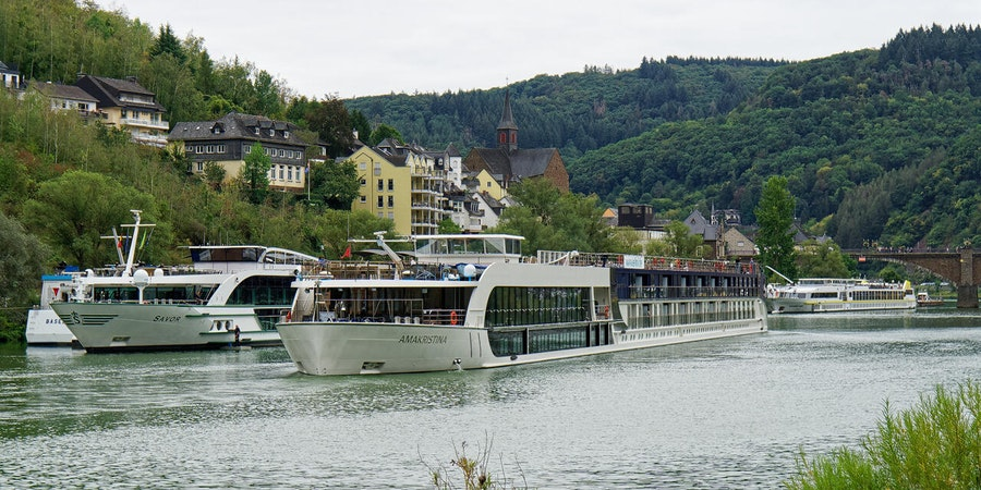 River cruise ships in Cochem on the Mosel River (Photo: Franz Neumeier/Cruise Critic Contributor)