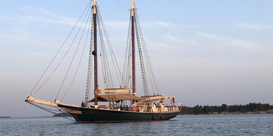 Just Back From the Bubble: Cruising In Maine, On the Only Ship Sailing in the U.S.