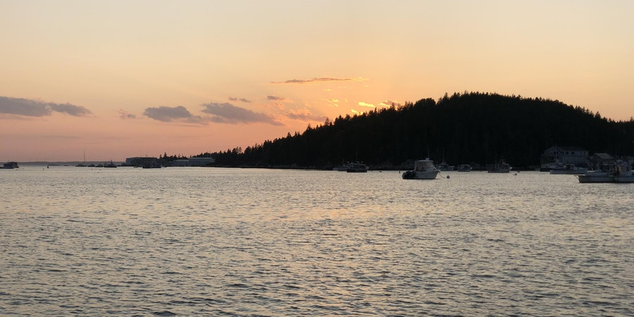 Sunset in Maine (Photo: Chris Gray Faust/Cruise Critic)