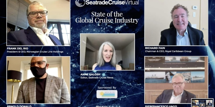 Cruise Executives Optimistic Cruises Can Restart from U.S. This Year