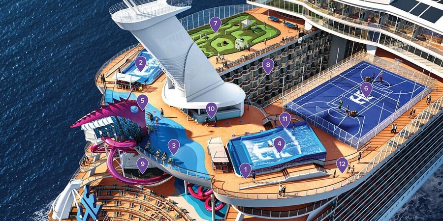 Outdoor Activities on Quantum of the Seas (Image: Royal Caribbean)
