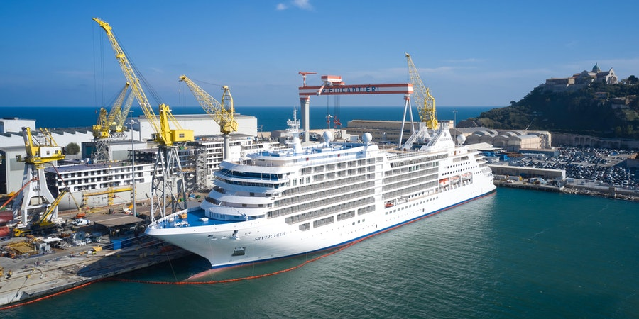 Silversea Takes Delivery of Silver Moon Luxury Cruise Ship