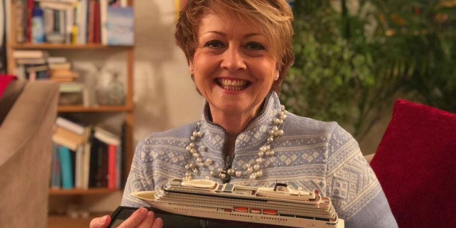 Viking Announces TV Presenter Anne Diamond as Godmother of New Cruise Ship Viking Venus