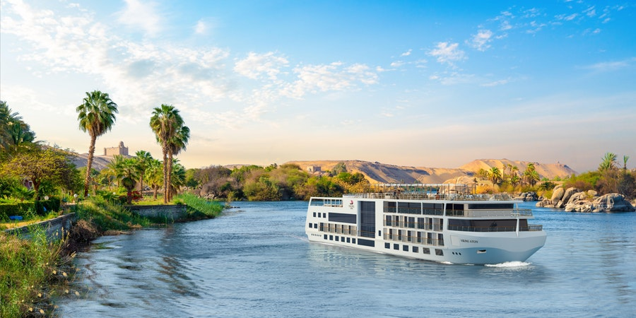 Viking To Build New Cruise Ship for Egypt's Nile River