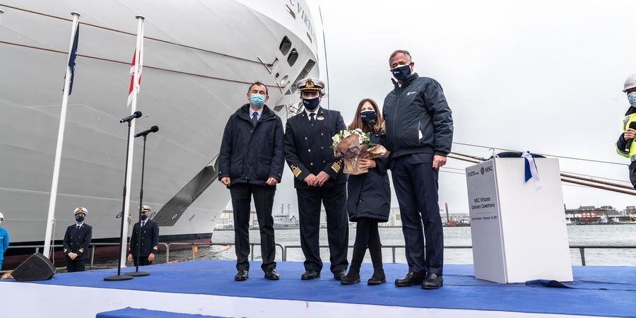 MSC Cruises Takes Delivery of Newest Ship MSC Virtuosa