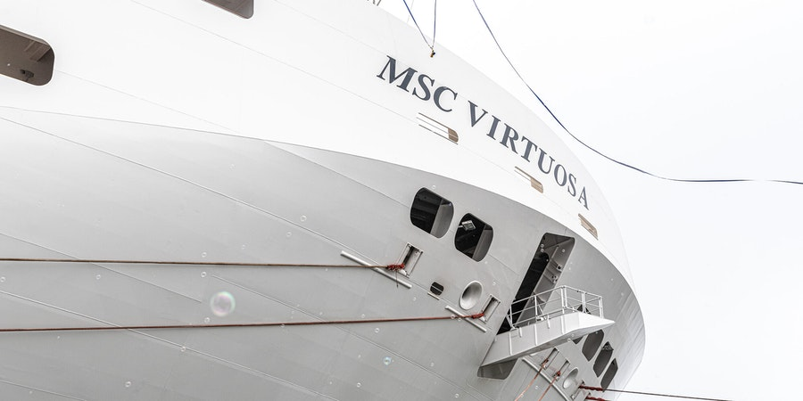 MSC Virtuosa delivery (Photo: Ivan Sarfatti)