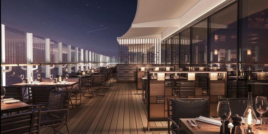 Butcher's Cut Al Fresco Dining on MSC Seashore (Image: MSC Cruises)
