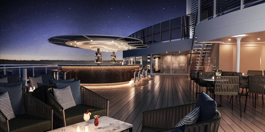 The Sky Bar on MSC Seashore (Image: MSC Cruises)