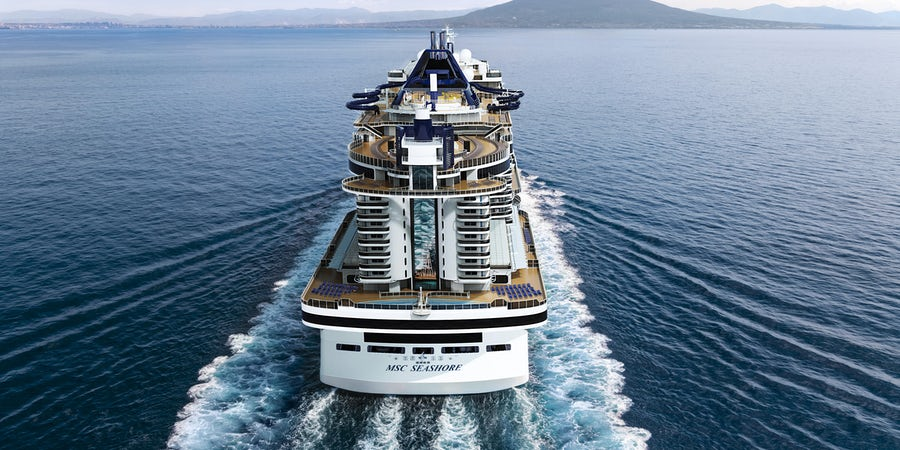 New MSC Cruise Ship Seashore Renderings Spotlight Focus on Pools, Outdoor Spaces