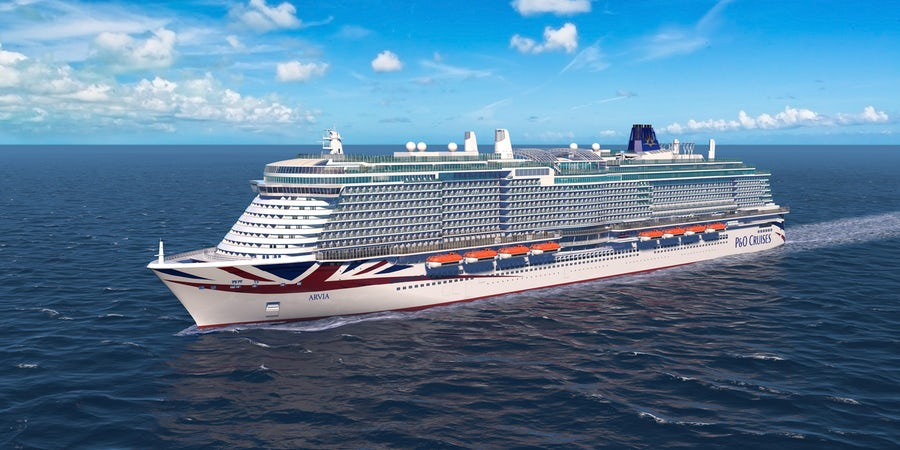P&O Cruises Reveals Name of New Ship, Arvia