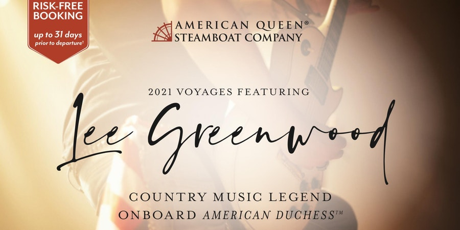 Lee Greenwood sailings on American Duchess (Photo: American Queen Steamboat Company)