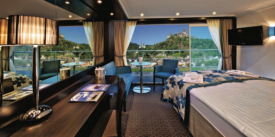 Avalon Vista Panorama Suite (Photo: Avalon Waterways)