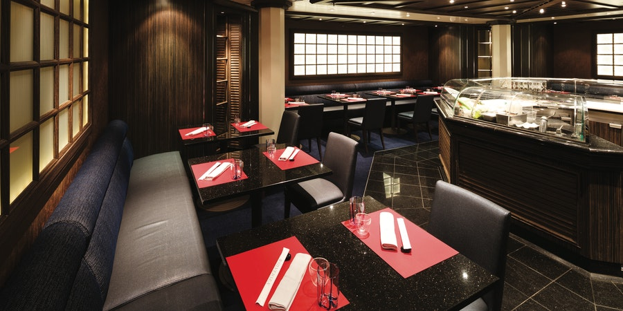 Seishin Japanese Restaurant (Photo: Silversea)