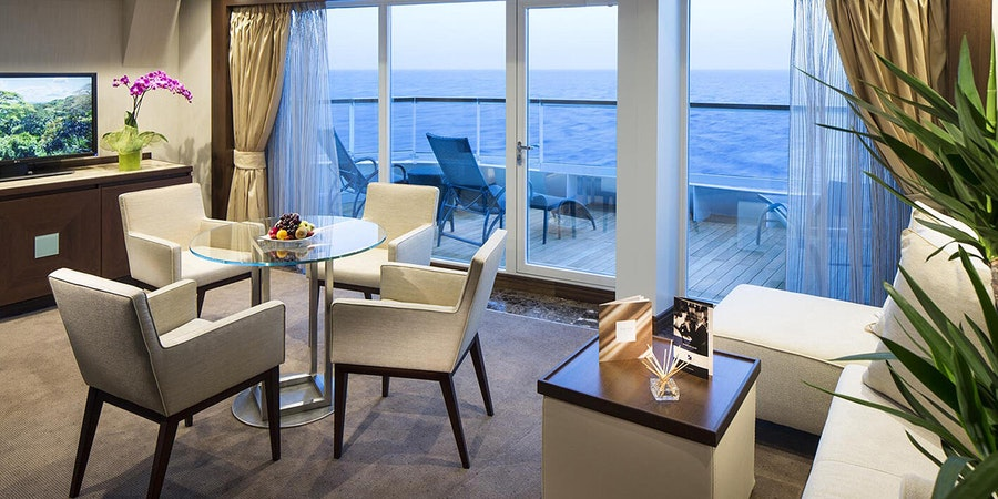 Seabourn Odyssey Penthouse Spa Suite (Photo: Seabourn)