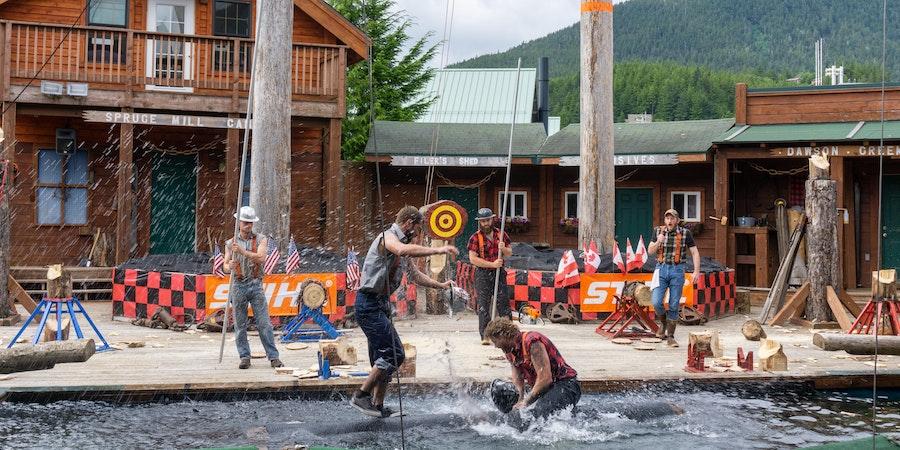 The Great Alaska Lumberjack Show is one of Ketchikan's most popular attractions. (Photo: Aaron Saunders)
