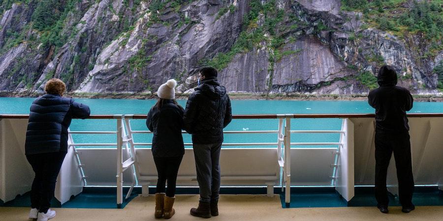 Cruising Endicott Arm aboard Serenade of the Seas (Photo: Aaron Saunders)