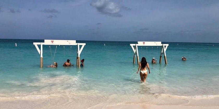 Swings at  Bimini  Beach  Club