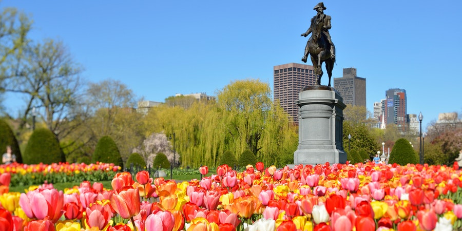 Boston Common & Public Garden (Photo: Jorge Salcedo/Shutterstock)