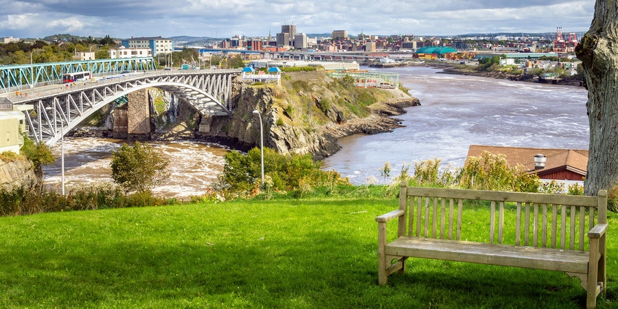Saint John, New Brunswick (Photo: Albert Pego/Shutterstock)