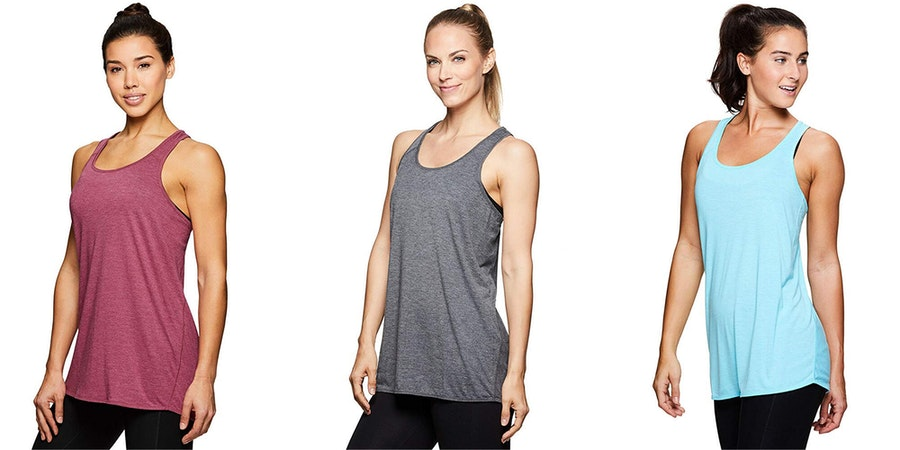 RBX Active Women's Back Detail Flowy Yoga Tank Top (Photo: Amazon)