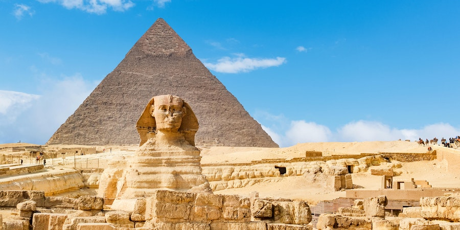 The Sphinx and Pyramid, Cairo, Egypt (Photo: rayints/Shutterstock)