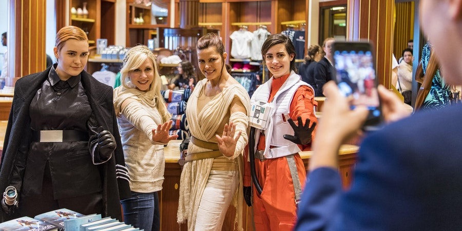 Star Wars Day at Sea (Photo: Disney)