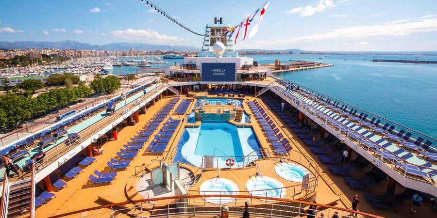 Marella Explorer's Main Pool (Photo: Marella Cruises)