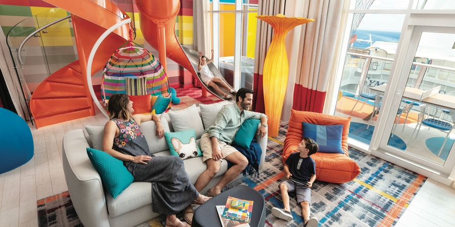 The Ultimate Family Suite on Symphony of the Seas (Photo: Royal Caribbean)