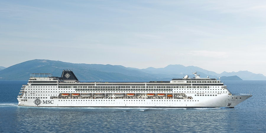 MSC Cruises' MSC Armonia to Homeport in Tampa
