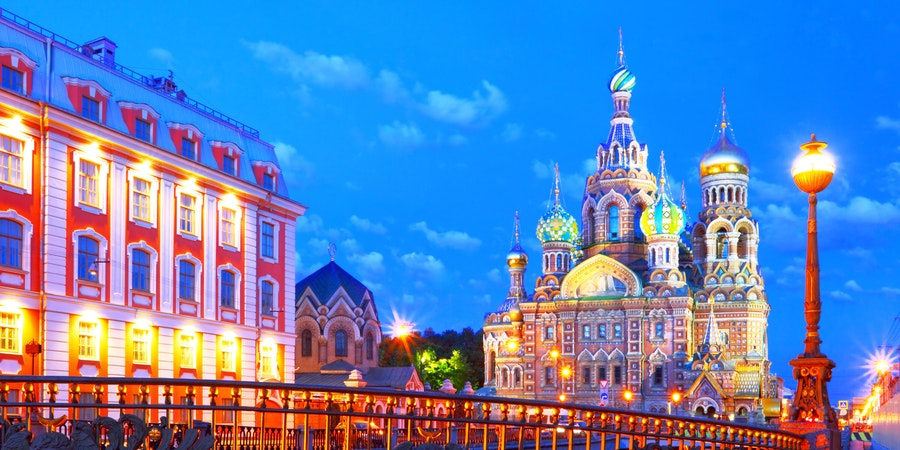 St. Petersburg (Photo:hramovnick/Shutterstock)
