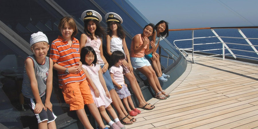 Kids on Crystal Cruises (Photo: Crystal Cruises)