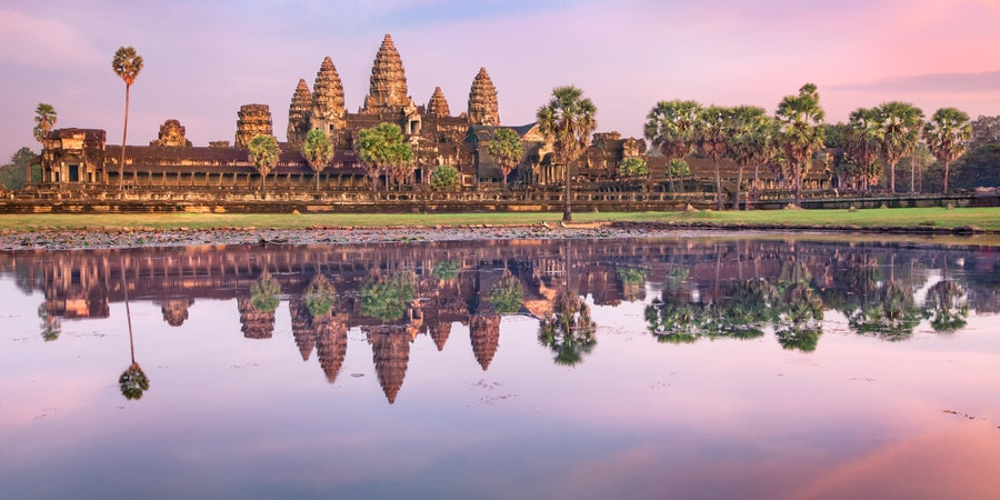 Angkor Wat Temple, Siem Reap, Cambodia (Photo: Lena Serditova/Shutterstock) (Photo:Dmitry Rukhlenko/Shutterstock)