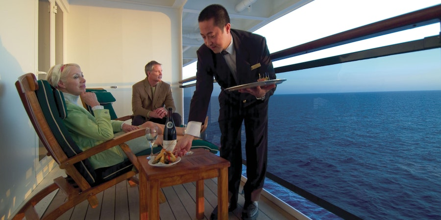12 Cool Things Staff Do for You on Luxury Cruise Ships