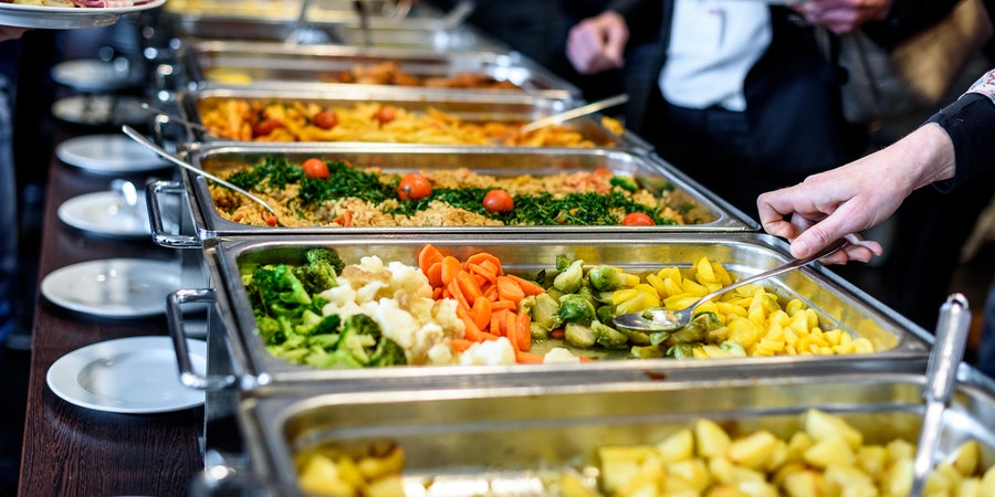 Healthy Buffet Display (Photo: JGA/Shutterstock)