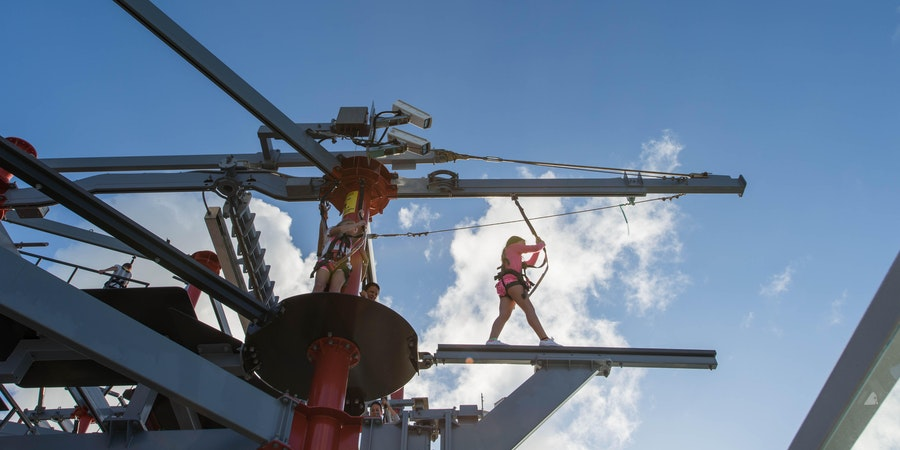 Norwegian Cruise Line Ropes Course