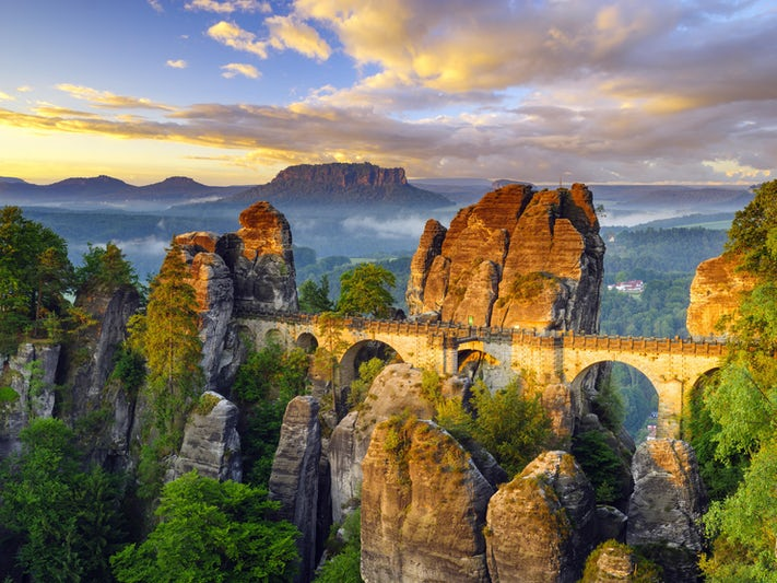 Saxon Switzerland National Park (Photo: Mike Mareen/Shutterstock.com)
