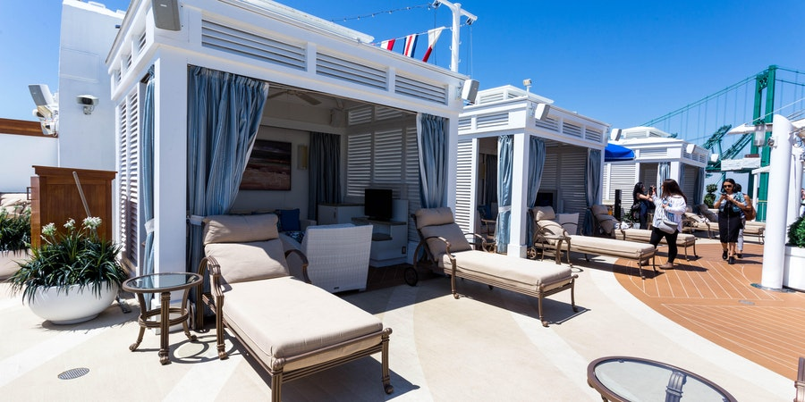 What Is a Cabana on a Cruise Ship or Private Island?