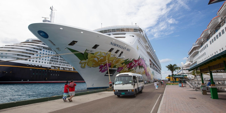 Ship Exterior on Norwegian Sky