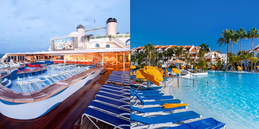 Cruise vs. All-Inclusive Resort: Which Is the Better Deal?