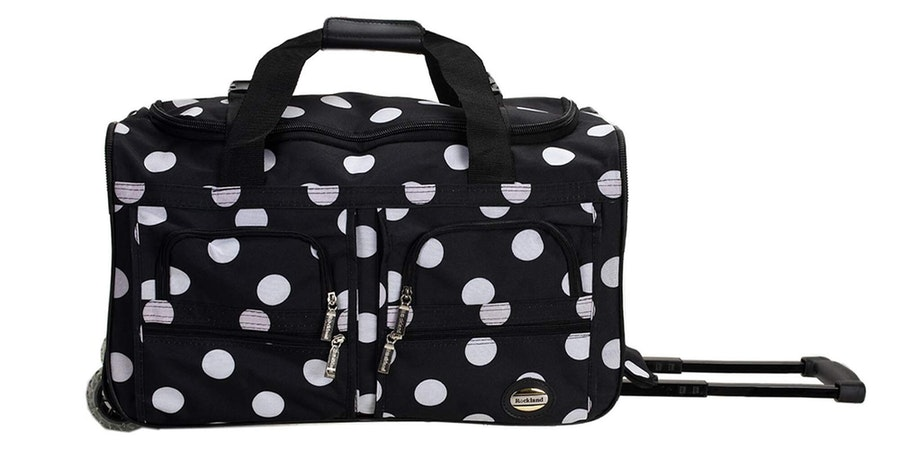 Rockland Rolling 22-Inch Duffle Bag (Photo: Amazon)